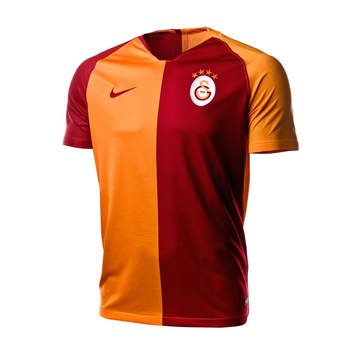 promo code b95de b4b2a Maglia Nike Galatasaray Stadium Home 2018-2019 Vivid orange-Pepper red -  Negozio di calcio Fútbol Emotion
