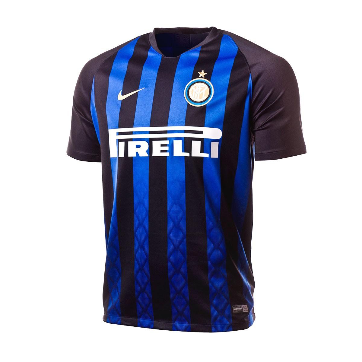 ... Camiseta Inter Milán Stadium Primera Equipación 2018-2019 Black-Truly  gold. CATEGORÍA. Productos oficiales 73b4eb7d067
