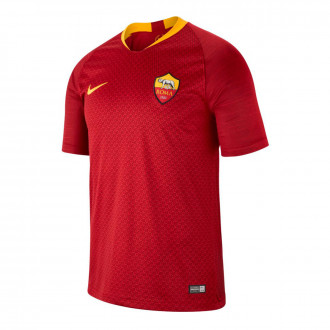 Camiseta  Nike AS Roma Stadium Primera Equipación 2018-2019 Team red-University gold