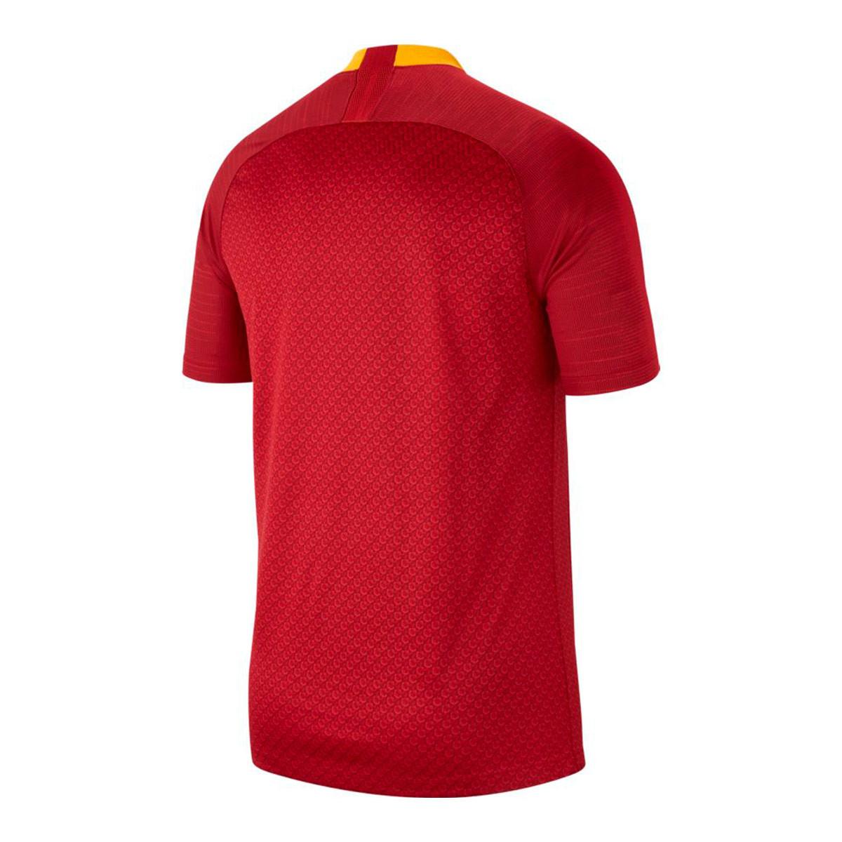 2f0b613ee33f8 Jersey Nike AS Roma Stadium 2018-2019 Home Team red-University gold ...