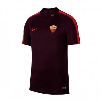 Camiseta  Nike AS Roma Squad 2018-2019 Burgundy-Habanero red