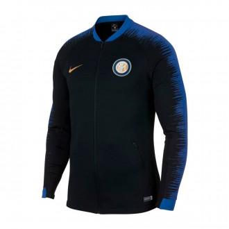 Casaco  Nike Inter Milán Pre-Match 2018-2019 Black-Game royal-Truly gold