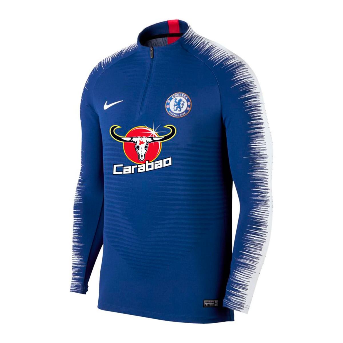 010b1a6940 Sweatshirt Nike Chelsea FC VaporKnit Strike 2018-2019 Rush blue ...