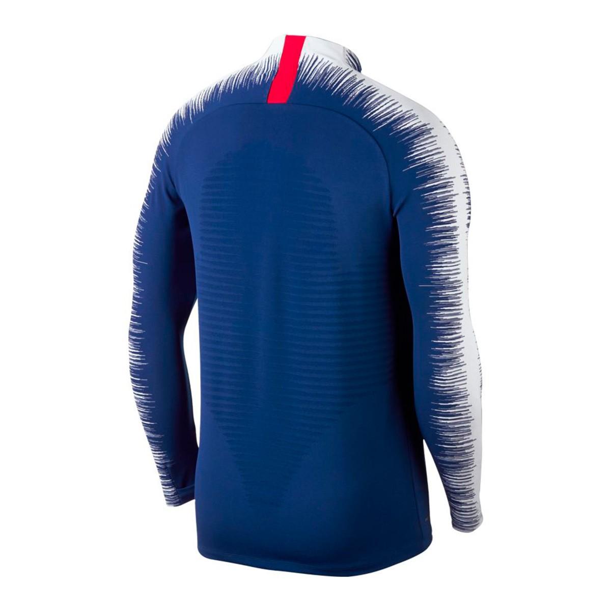 bfec142a91 Sweatshirt Nike Chelsea FC VaporKnit Strike 2018-2019 Rush blue-White -  Football store Fútbol Emotion