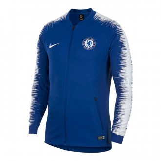 Chaqueta  Nike Chelsea FC Pre-Match 2018-2019 Rush blue-White