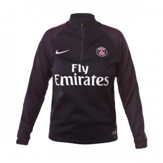 Sudadera  Nike Paris Saint-Germain Dry Squad 2018-2019 Niño Black-Hyper pink-White