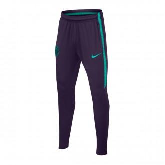 Tracksuit bottoms  Nike Kids FC Barcelona Dry Squad 2018-2019 Purple dynasty-Hyper turquoise