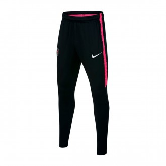 Pantalón largo  Nike Paris Saint-Germain Dry Squad 2018-2019 Niño Black-Hyper pink-White