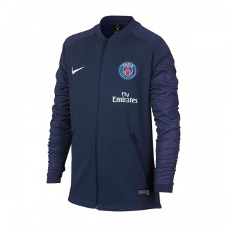 Chaqueta  Nike Paris Saint-Germain Pre-Match 2018-2019 Niño Midnight navy-White