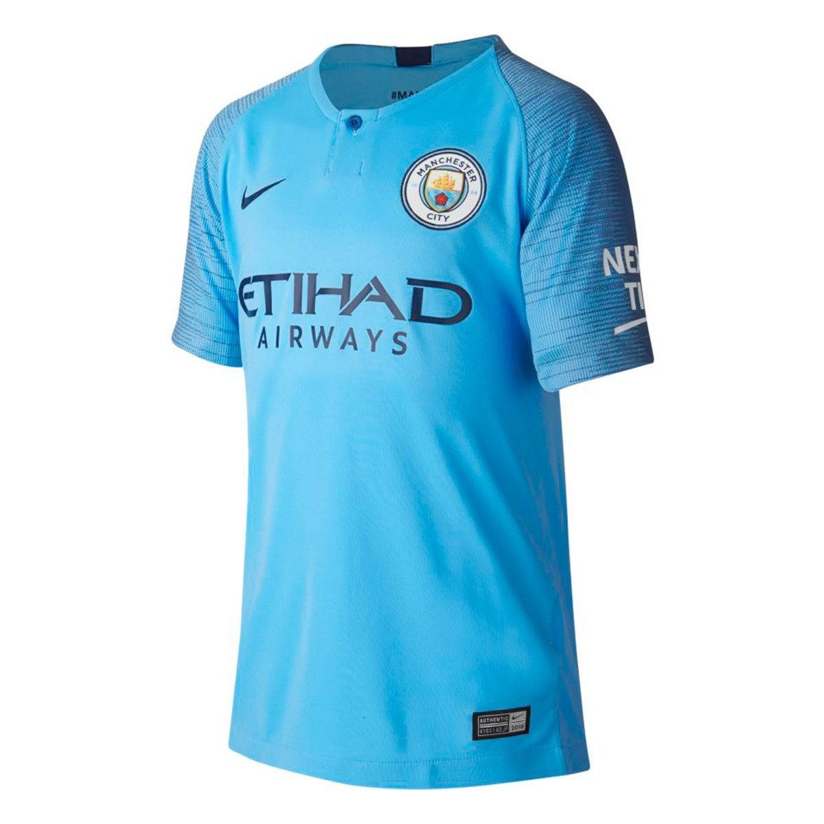 Nike Kids Manchester City FC Stadium 2018 2019 Home Jersey