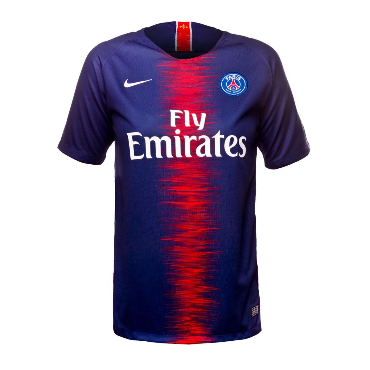 82d5663dc1360 Camiseta Nike Paris Saint-Germain Stadium Primera Equipación 2018-2019 Niño  Midnight navy-White - Tienda de fútbol Fútbol Emotion