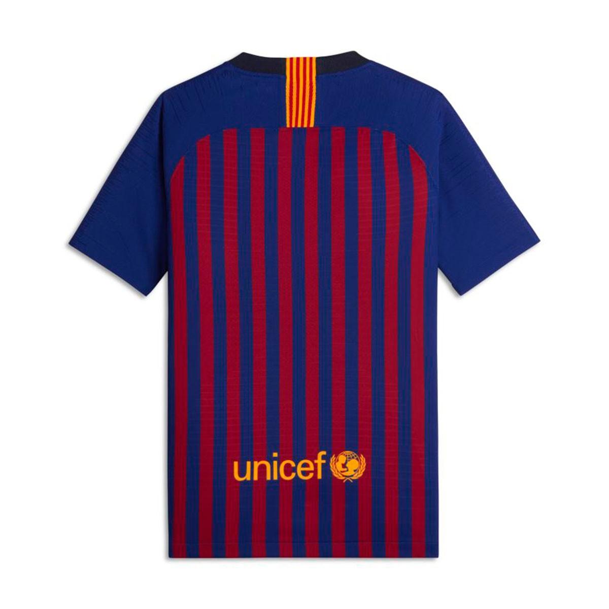 c28619e613 ... Camiseta FC Barcelona Vapor Primera Equipación 2018-2019 Niño Deep  royal blue-University gold. CATEGORY