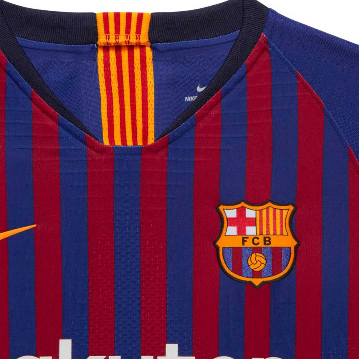 2a9e1804c8a Jersey Nike Kids FC Barcelona Vapor 2018-2019 Home Deep royal  blue-University gold - Football store Fútbol Emotion