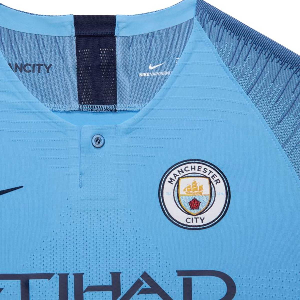 ed77d56c19686 Jersey Nike Kids Manchester City FC Vapor 2018-2019 Home Field  blue-Midnight navy - Tienda de fútbol Fútbol Emotion
