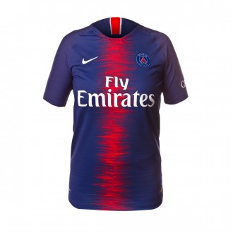 Camiseta  Nike Paris Saint-Germain Vapor Primera Equipación 2018-2019 Niño Midnight navy-White