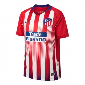 ad3241cef2d Jersey Nike Kids Atlético de Madrid Stadium 2018-2019 Home Sport red-White-