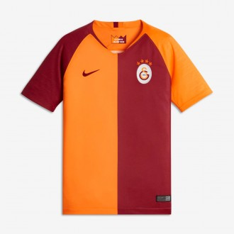 Maillot  Nike Galatasaray Stadium Domicile 2018-2019 enfant Vivid orange-Pepper red