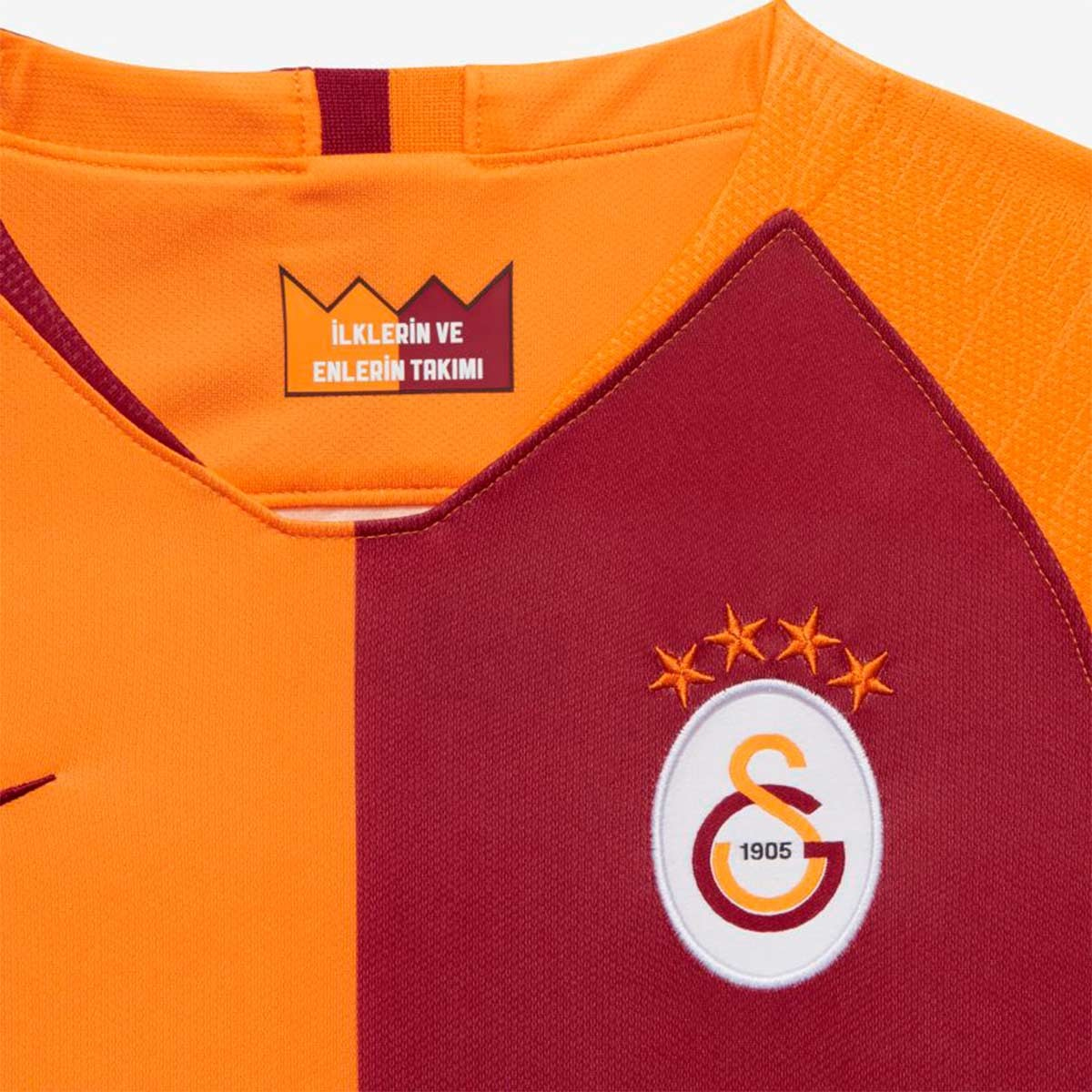 3f2bc8ccec3 Jersey Nike Kids Galatasaray Stadium 2018-2019 Home Vivid orange-Pepper red  - Football store Fútbol Emotion