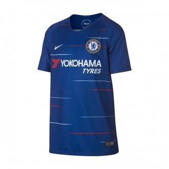 Jersey  Nike Kids Chelsea FC Stadium 2018-2019 Home Rush blue-White