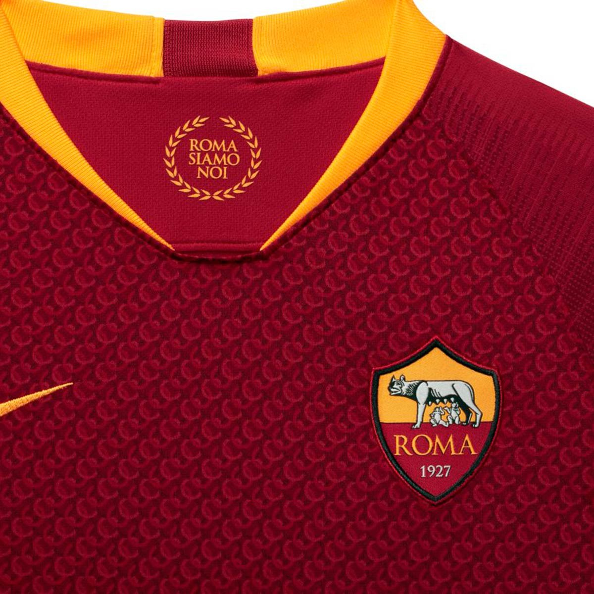 96eb689fa0b93 Camiseta Nike AS Roma Stadium Primera Equipación 2018-2019 Niño Team  red-University gold - Tienda de fútbol Fútbol Emotion