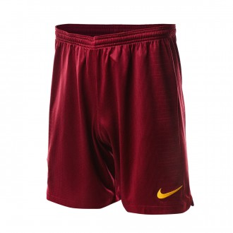 Pantalón corto  Nike AS Roma Stadium Primera Equipación 2018-2019 Niño Team red-University gold