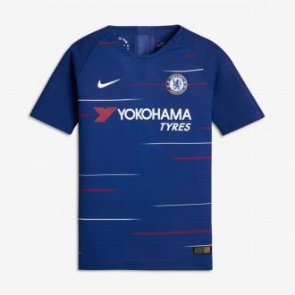 Camiseta  Nike Chelsea FC Vapor Primera Equipación 2018-2019 Niño Rush blue-White