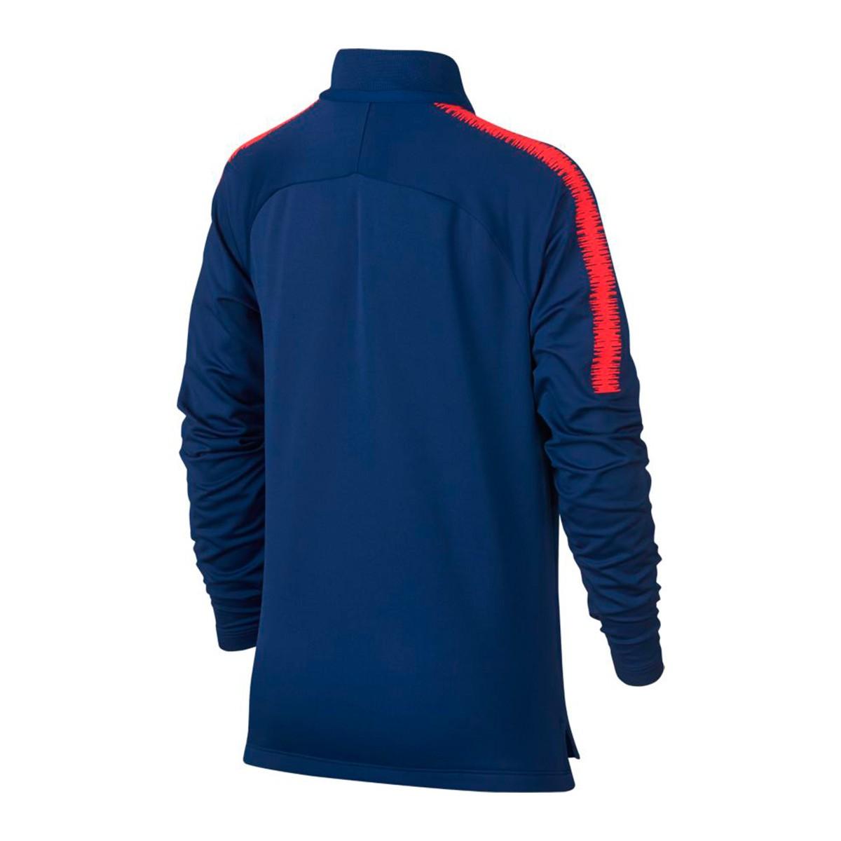De Madrid 2018 2019 Nike Sudadera Royal Atlético Squad Dry Niño Deep EZ6SOwRq