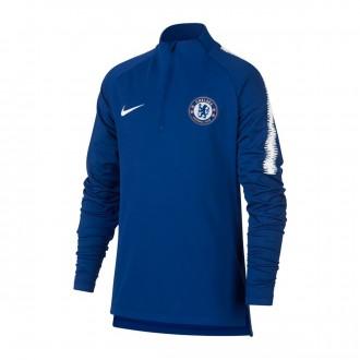 Sudadera  Nike Chelsea FC Dry Squad 2018-2019 Niño Rush blue-White
