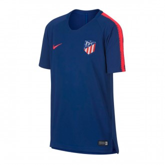 Camiseta  Nike Atlético de Madrid Squad 2018-2019 Niño Deep royal blue-Bright crimson