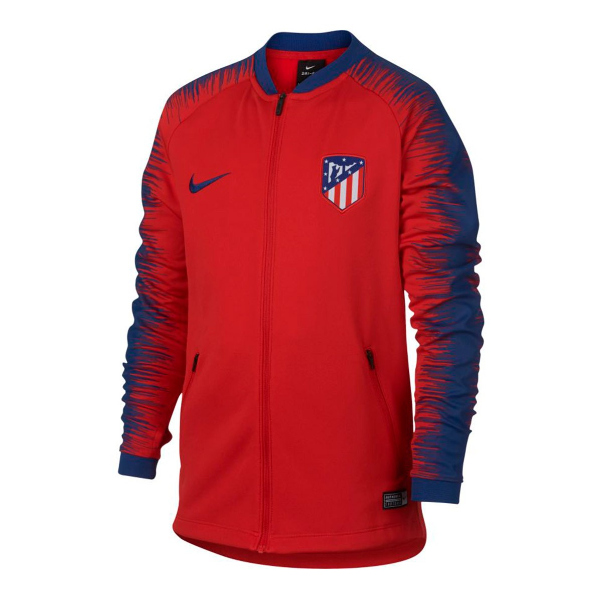 0873fb37fe2c9 Chaqueta Nike Atlético de Madrid Pre-Match 2018-2019 Niño Sport red-Deep  royal blue - Tienda de fútbol Fútbol Emotion