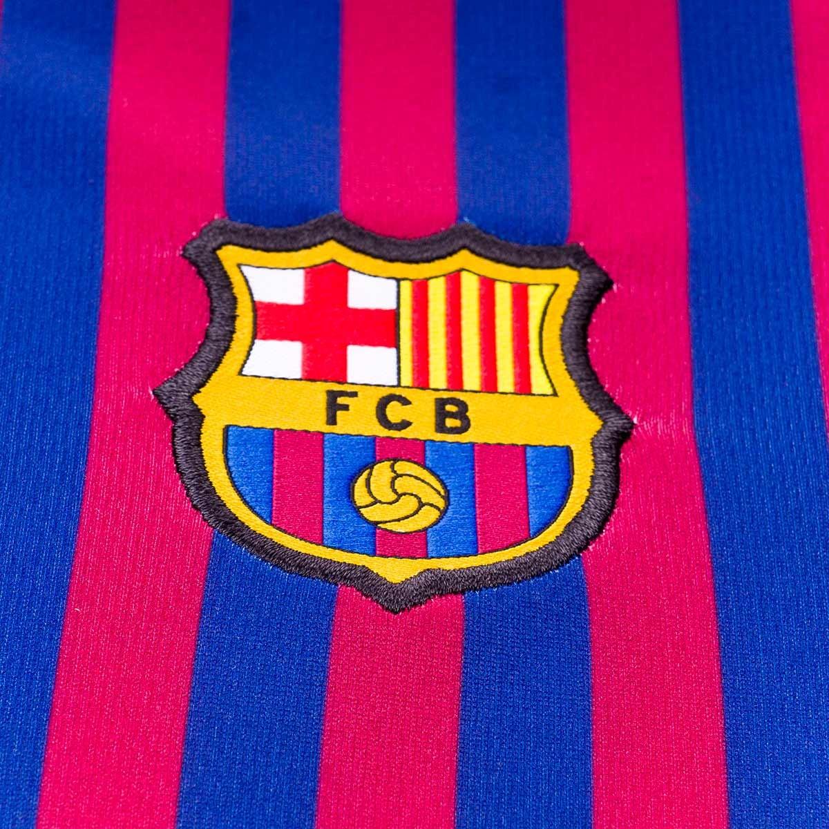 Kit Nike Kids FC Barcelona 2018-2019 Home Deep royal  blue-Obsidian-University gold - Leaked soccer fde1edd5aec