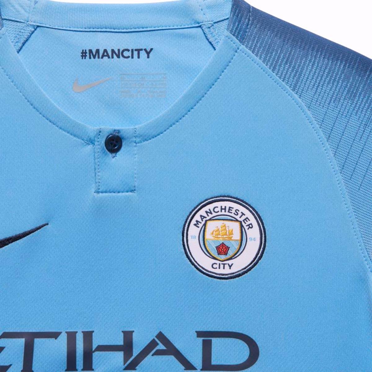 Novas camisas do Manchester City 2018 2019 Nike   Mantos do