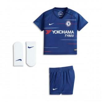 Conjunto  Nike Bebé Chelsea FC Primera Equipación 2018-2019 Rush blue-White