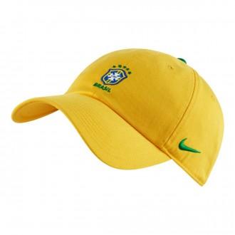 Gorra  Nike Brasil 2018-2019 Midwest gold-Lucky green