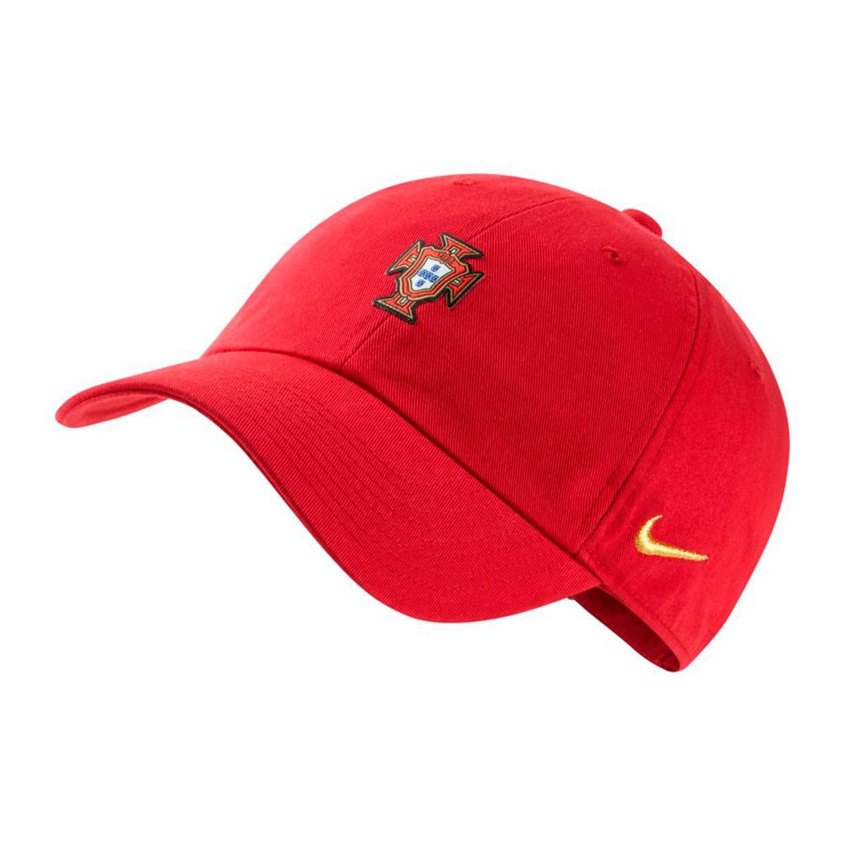 Cap Nike Portugal 2018-2019 Gym red-Metallic gold - Soloporteros es ... 58ac88e3b9f