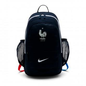 Mochila  Nike Stadium Francia 2018-2019 Obsidian-White
