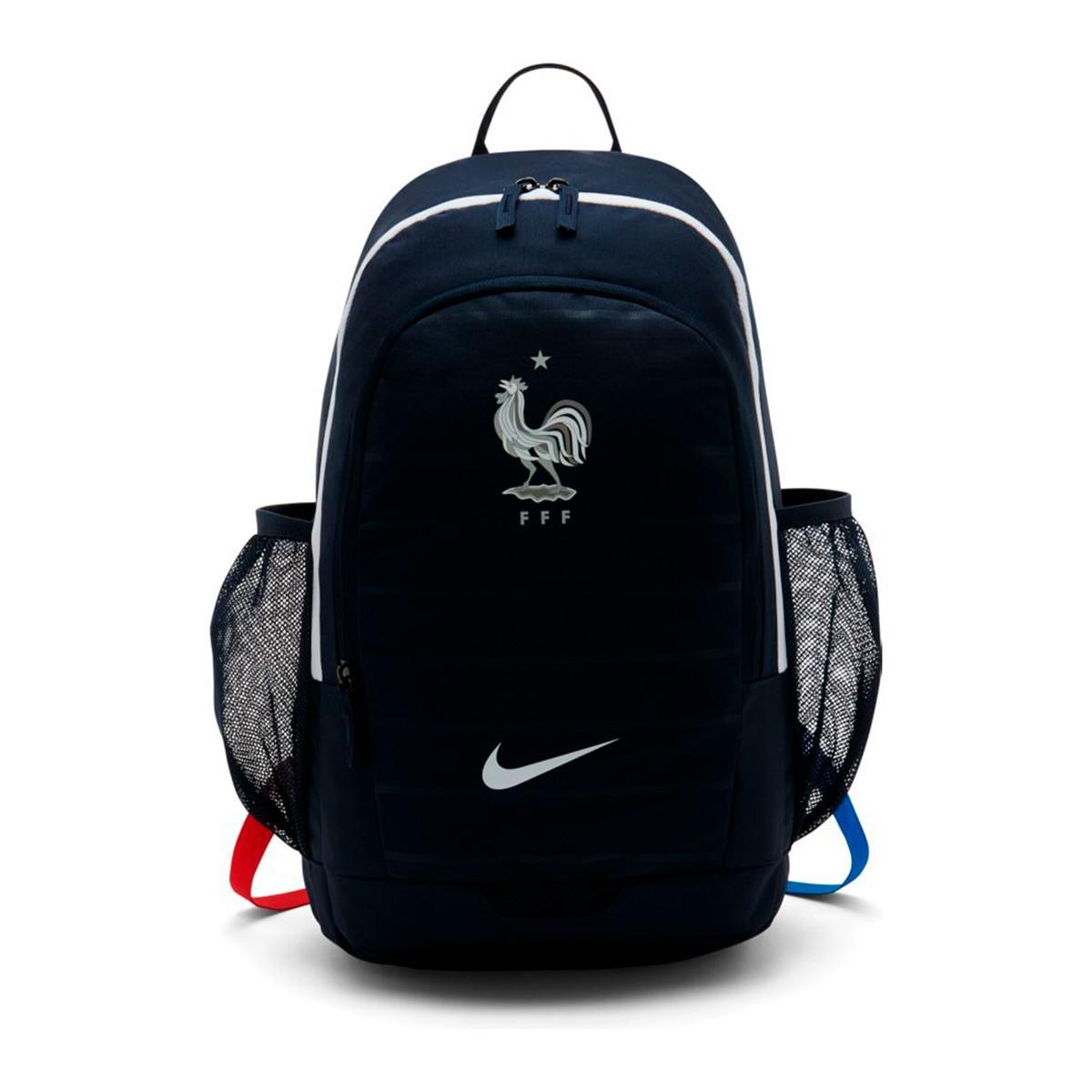 0b4c07a4b8c16 Mochila Nike Stadium Francia 2018-2019 Obsidian-White - Leaked soccer