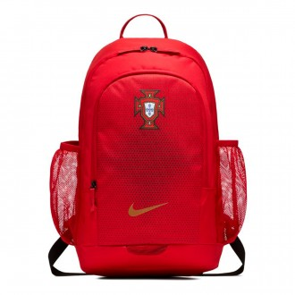 Mochila  Nike Stadium Portugal 2018-2019 Gym red-Metallic gold
