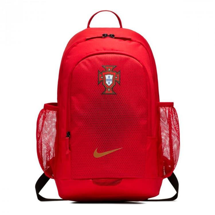 5a82d1ae2af11 Mochila Nike Stadium Portugal 2018-2019 Gym red-Metallic gold ...