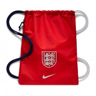 Bolsón  Nike Gymsack Stadium Inglaterra 2018-2019 Challenge red-Loyal blue-White