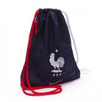 Backpack  Nike Gymsack Stadium France 2018-2019 Obsidian-University red-White