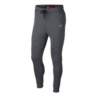 Calças  Nike Inglaterra Tech Fleece 2018-2019 Carbon heather-White