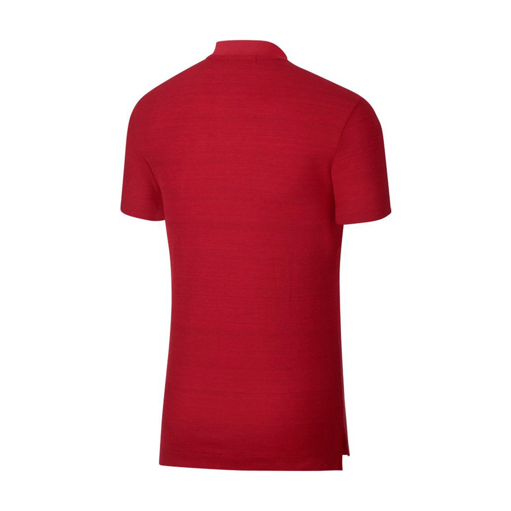 Polo shirt Nike Portugal 2018-2019 Gym red-Black - Football store ... 6ca84bd560c4