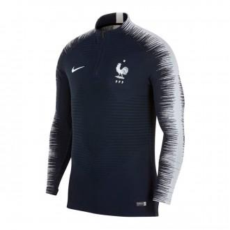 Sudadera  Nike Francia VaporKnit Strike 2018-2019 Obsidian-White