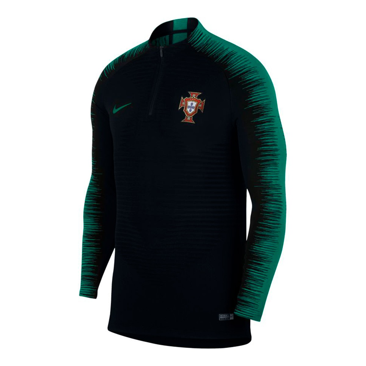 design intemporel 9acf6 cff1c Sudadera Portugal VaporKnit Strike 2018-2019 Black-Kinetic green