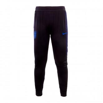Pantalón largo  Nike Inglaterra VaporKnit Strike 2018-2019 Black-Blackened blue-Sport royal