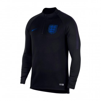 Sweatshirt  Nike Inglaterra Dry Squad Dril Top Black-Blackened blue-Sport royal