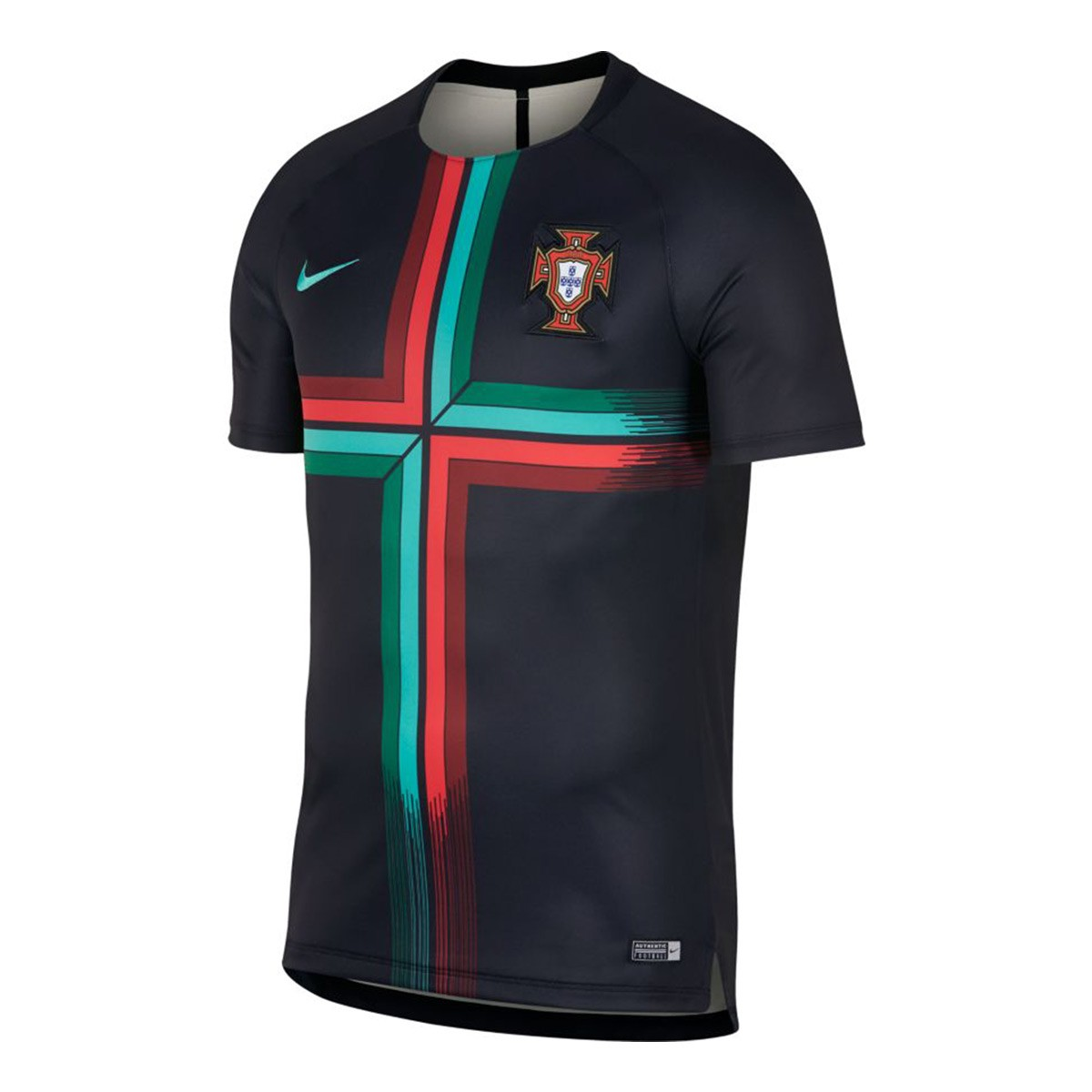 Playera nike portugal dry squad gx 2017 2018 black kinetic - Comprar ropa en portugal ...