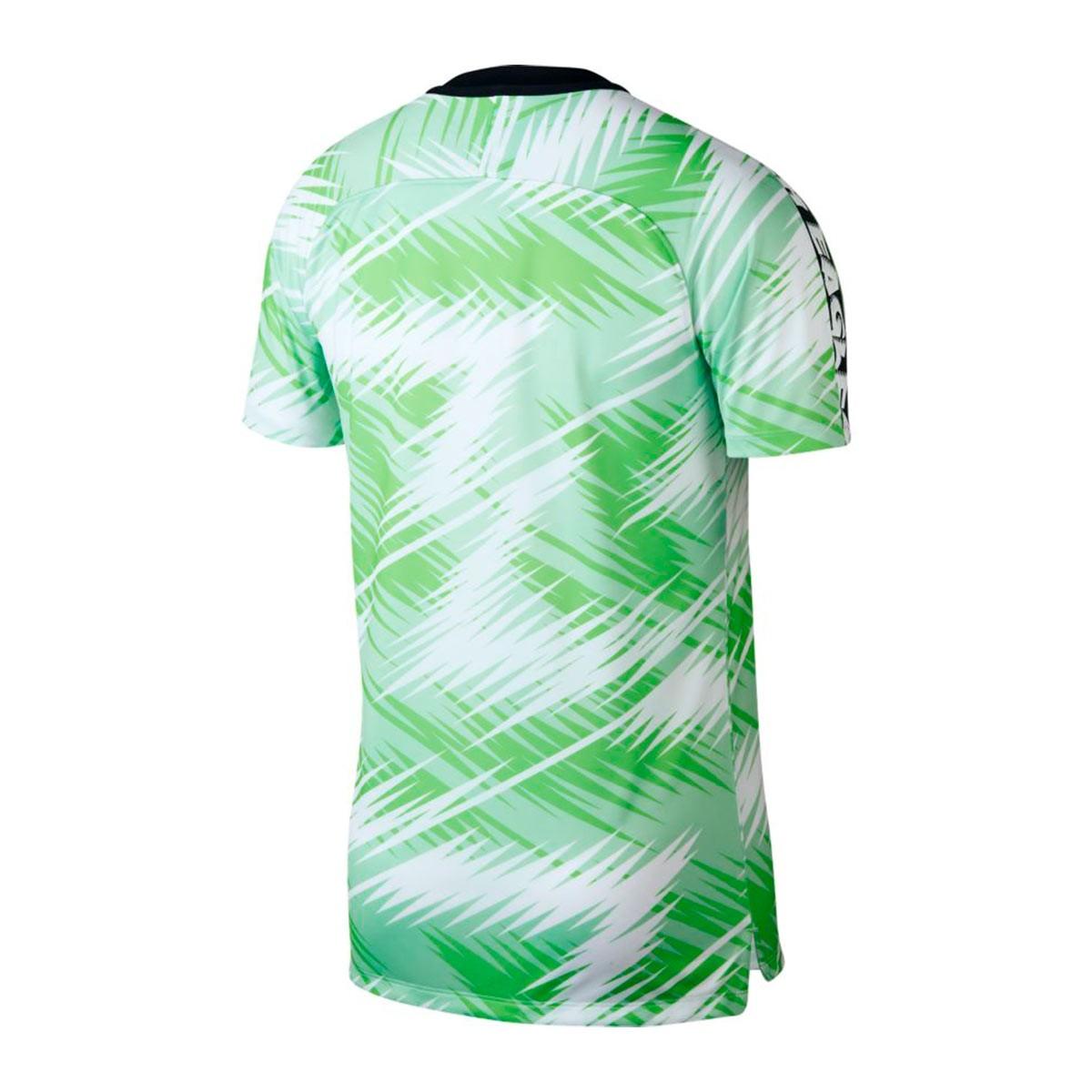 83c47d51149 Camiseta Nigeria Dry Squad GX 2018-2019 White-Black
