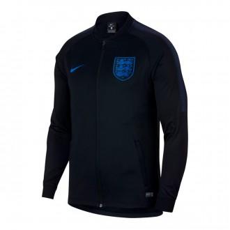 Jacket  Nike England Dry Squad 2018-2019 Black-Blackened blue-Sport royal